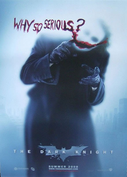 dark knight - why so serious