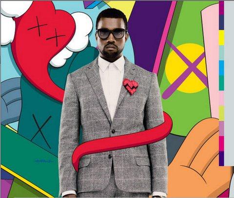 Kanye - Kaws
