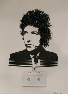 Ghost in the Machine: Bob Dylan, by iri5