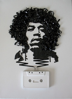 Ghost in the Machine: Jimi Hendrix, by iri5