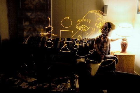 Brian Mathew Hart - light drawing
