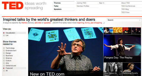 TEDtalks - Ideas worth spreading
