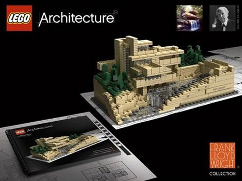 Lego Architecture collection: Frank Lloyd Wright