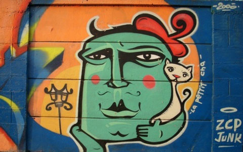 IMT grafiti zid - Beograd