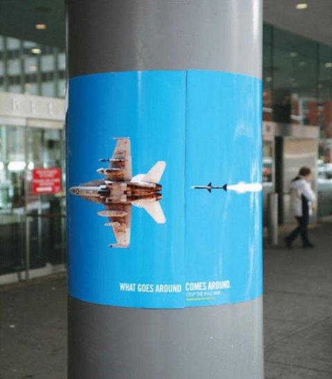 What Goes Around Comes Around - jet poster