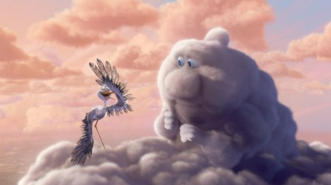 Partly Cloudy - Pixar