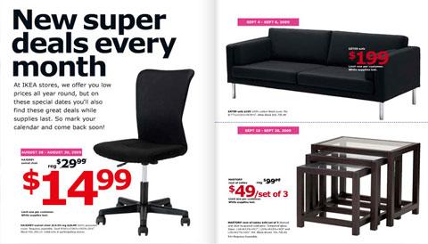 Ikea - posle promene fonta