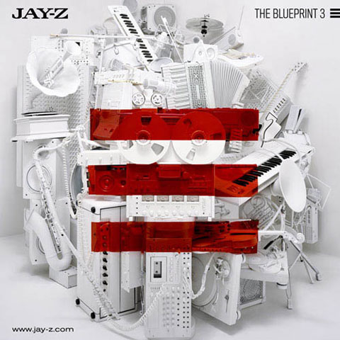 Jay-Z - The Blueprint 3 - cover