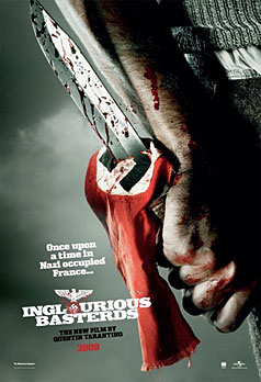 Inglourious Basterds poster - knife