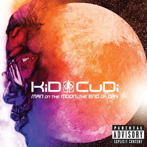 Kid CuDi - Man on the Moon: The End of Day cover