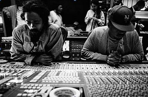 Distant Relatives - Nas and Damian Marley in the studio
