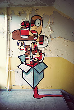 graffiti by nelio