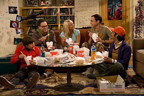 The Big Bang Theory  - cast