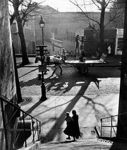 Willy Ronis - Avenue Simon Bolivar, 1950