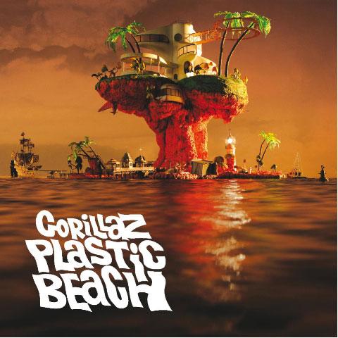 Gorillaz: Plastic Beach - cover